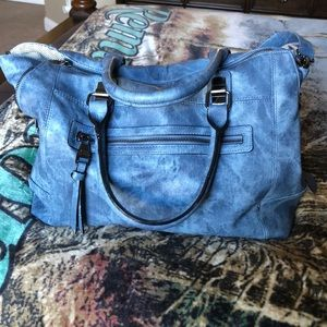 Steven Madden Denim Colored Purse